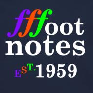 Design ~ Classic Footnote Crew Neck - Blue