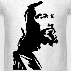 Jesus Profile T-Shirts - Men's T-Shirt