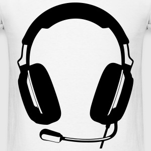 Game Headset T-Shirts - Men's T-Shirt
