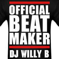 Design ~ DJ Willy B Beats T Shirt