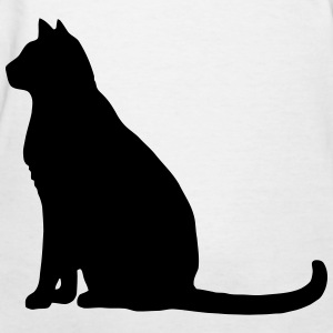 Cat Shadow - Women's T-Shirt