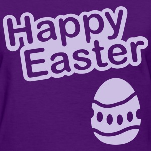 Happy Easter  Egg - Women's T-Shirt