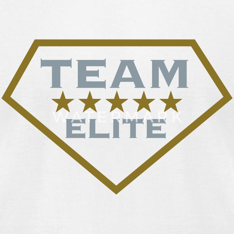 TEAM ELITE, 5 stars, For the Best of the Best! T-Shirts - Men's T-Shirt by American Apparel