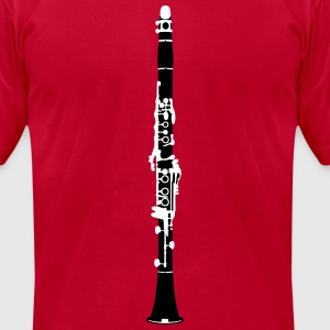 Music - Clarinet Music Instruments T-Shirts - Men's T-Shirt by American Apparel