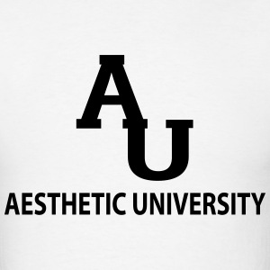 Aesthetic University T-Shirts - Men's T-Shirt