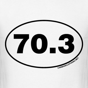 70.3 Miles Oval - Men's T-Shirt