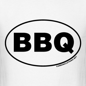 BBQ Oval - Men's T-Shirt
