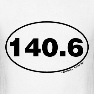 140.6 Miles Oval - Men's T-Shirt