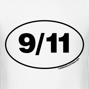 9/11 Remember Oval - Men's T-Shirt