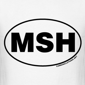 MSH Mount St Helens National Park - Men's T-Shirt