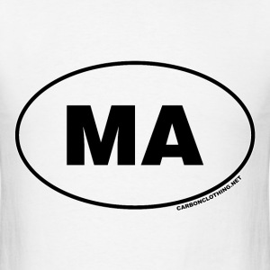 MA Massachusetts - Men's T-Shirt