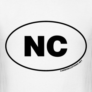 NC North Carolina - Men's T-Shirt