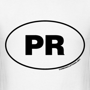 PR Puerto Rico - Men's T-Shirt
