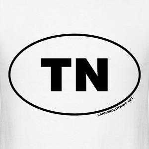 TN Tennessee - Men's T-Shirt