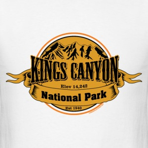 Kings Canyon National Park - Men's T-Shirt