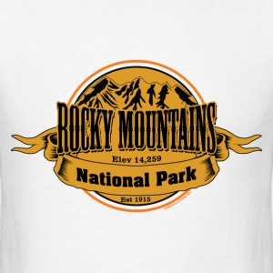 Rocky Mountains National Park - Men's T-Shirt
