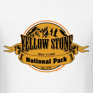 Yellowstone National Park - Men's T-Shirt