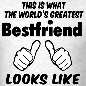 This Is What The World's Greatest Bestfriend looks - Men's T-Shirt