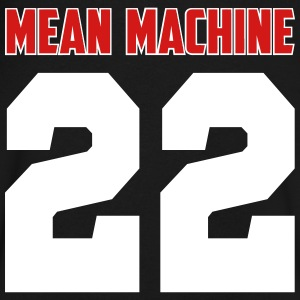Mean Machine T-Shirts - Men's V-Neck T-Shirt by Canvas