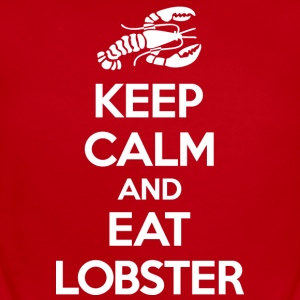 Keep Calm Eat Lobster White Baby & Toddler Shirts - Short Sleeve Baby Bodysuit