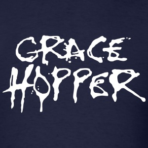 Grace Hopper / Alice Cooper T-Shirts - Men's T-Shirt