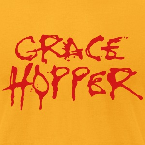 Grace Hopper / Alice Cooper T-Shirts - Men's T-Shirt by American Apparel