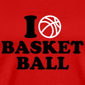 I love Basketball T-Shirts - Men's Premium T-Shirt