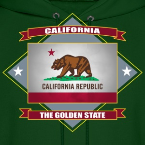 CALIFORNIA Republic The Golden State Hoodies - Men's Hoodie