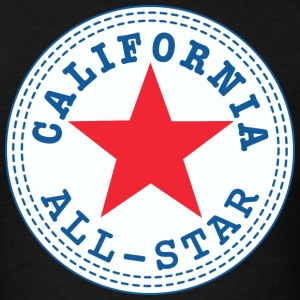 CALIFORNIA All Star T-Shirts - Men's T-Shirt