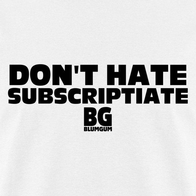 Subscriptiate Plain White T