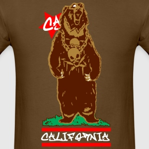 CALI Bear California T-Shirts - Men's T-Shirt