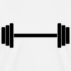 Gym Dumbbell Barbell Weight Athletics 1c T-Shirts