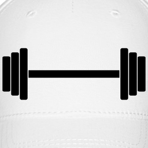 Gym Dumbbell Barbell Weight Athletics 1c Caps - Baseball Cap