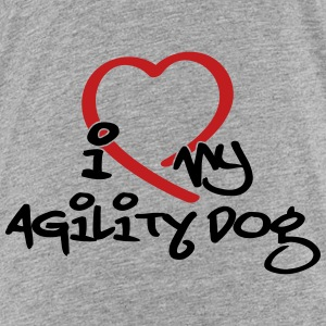 I love my agility dog - Kids' Premium T-Shirt