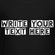 Design ~ Add your own text/color /font