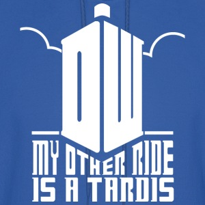 Ride the Tardis - Men's Hoodie