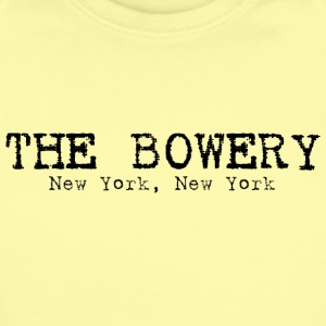 The Bowery New York New York Baby & Toddler Shirts - Short Sleeve Baby Bodysuit