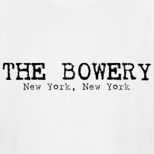 The Bowery New York New York T-Shirts - Men's Tall T-Shirt
