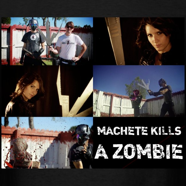 """MACHETE KILLS"" A ZOMBIE"
