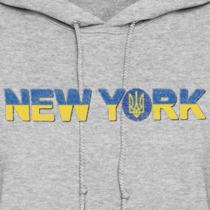 Ukraine New York Hoodies - Women's Hoodie