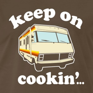 Keep On Cooking... - Men's Premium T-Shirt