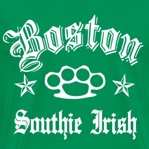 Boston 617 Southie Irish - Men's Premium T-Shirt