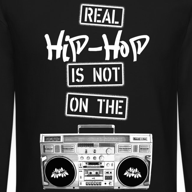 Real Hip Hop Sweatshirt Black