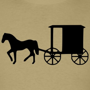 horse and buggy 1_ T-Shirts - Men's T-Shirt