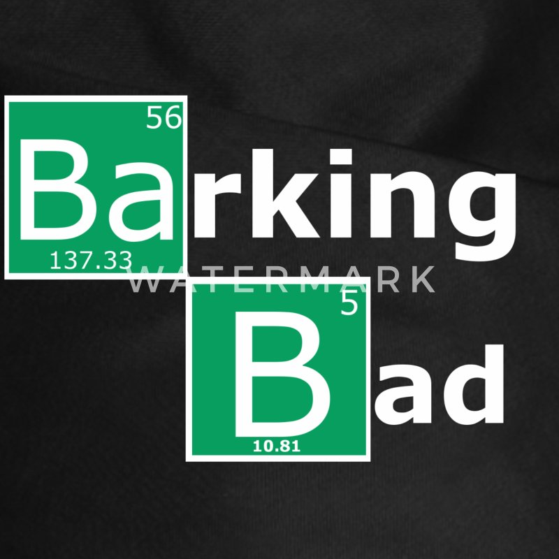 Barking Bad - Dog Bandana