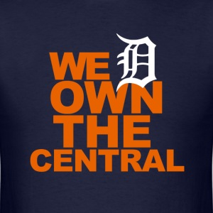 Tigers Own the Central - Men's T-Shirt