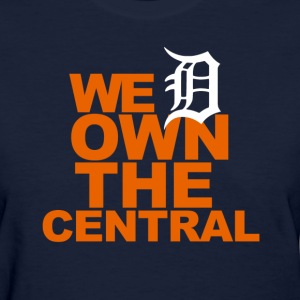 Tigers Own the Central - Women's T-Shirt