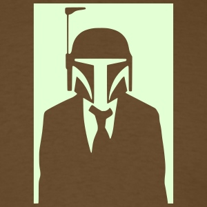 boba fett in suit 0_ T-Shirts - Men's T-Shirt