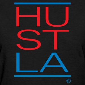 LA Hustla Graphic Tee for the Ladies - Women's T-Shirt