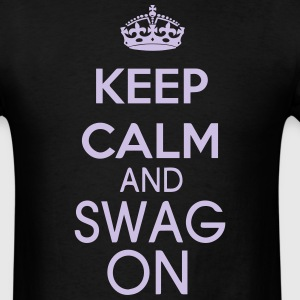 KEEP CALM AND SWAG ON T-Shirts - Men's T-Shirt